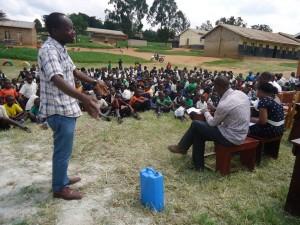 The Water Project : uganda6060-02-sanitation-sensitization