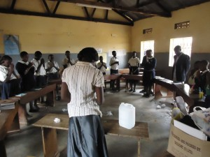The Water Project : uganda6060-03-sanitation-club-training