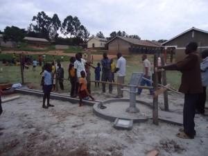 The Water Project : uganda6060-05-sanitation-club-work