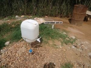 The Water Project : uganda6060-29-new-hand-washing-facility