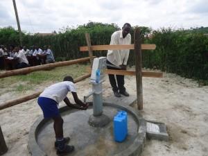 The Water Project : uganda6060-34-caretaker
