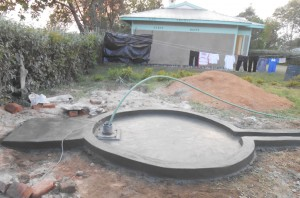 The Water Project : kenya4281-14-plastered-well-pad