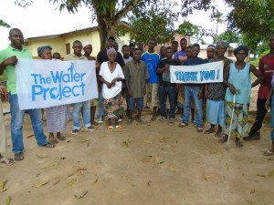 The Water Project : sierraleone5058-09-water-committee