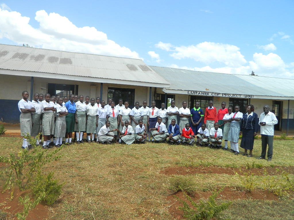 The Water Project : kenya4333-07-shisango-girls-secondary-school-2