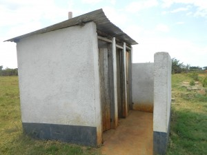 The Water Project : kenya4333-12-toilet