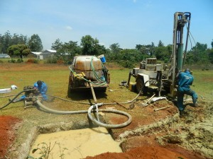 The Water Project : kenya4333-43-shisango-sec-drilling