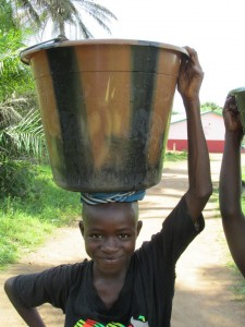 The Water Project : sierraleone5070-70-pumping-safe-water