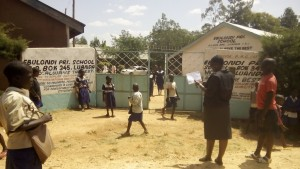 The Water Project : kenya4325-03-school-gate
