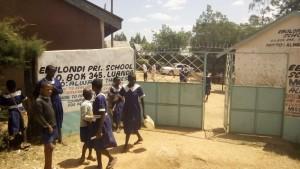 The Water Project : kenya4325-04-school-gate