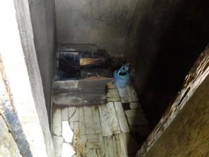 The Water Project : sierra-leone5066-16-latrine-inside