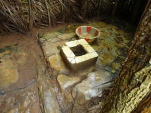The Water Project : sierra-leone5072-02-native-toilet-inside