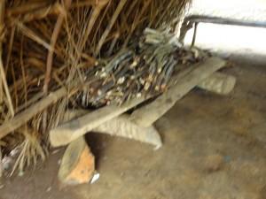The Water Project : sierra-leone5074-15-kitchen-2-inside-wood-dish-rack