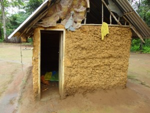 The Water Project : sierra-leone5074-17-improved-kitchen-with-store