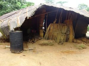 The Water Project : sierra-leone5074-19-kitchen-falling-down