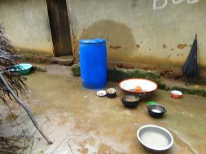 The Water Project : sierra-leone5074-25-outside-kitchen