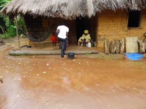 The Water Project : sierra-leone5074-30-typical-mud-house