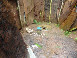 The Water Project : sierraleone5065-15-native-toilet-inside