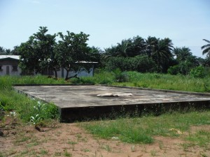 The Water Project : sierraleone5065-33-rice-drying-slab