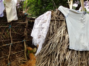 The Water Project : sierraleone5071-36-native-toilet