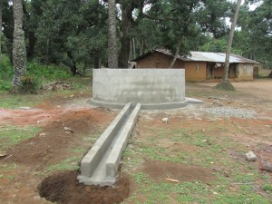 The Water Project : sierraleone5071-66-wall-construction-and-pump-installation