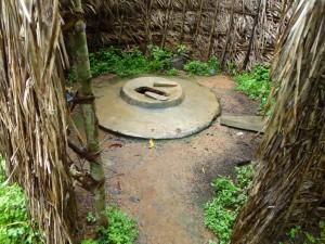 The Water Project : sierraleone5075-89-inside-native-toilet