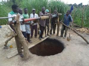 The Water Project : uganda684-08-waiga-excavation