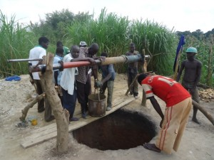 The Water Project : uganda684-09-waiga-excavation