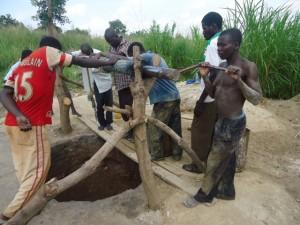 The Water Project : uganda684-10-waiga-excavation