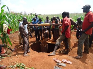 The Water Project : uganda685-07-opok-excavation