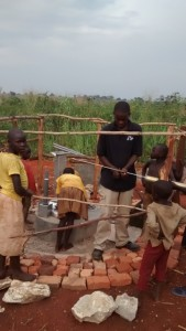 The Water Project : uganda685-12-opok-pump-installation