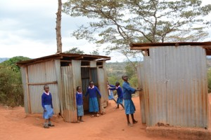 The Water Project : kenya4451-15-girls-toilets