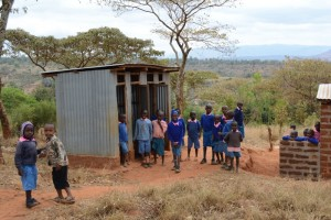 The Water Project : kenya4451-16-boys-toilets