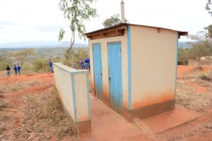 The Water Project : kenya4451-19-staff-toilets