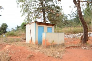 The Water Project : kenya4451-20-staff-toilets
