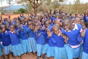 The Water Project : kenya4451-26-students
