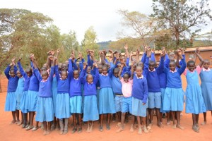 The Water Project : kenya4451-28-students