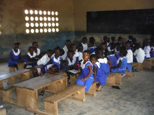 The Water Project : sierraleone5061-110-students-at-school