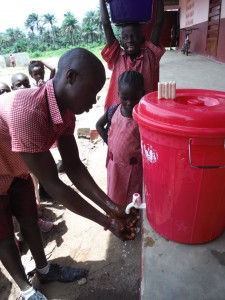 The Water Project : sierraleone5070-120-hand-washing