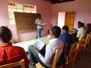 The Water Project : sierraleone5070-128-teachers-teaching-back