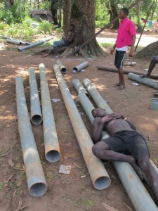 The Water Project : sierraleone5071-107-drilling-is-hard-work