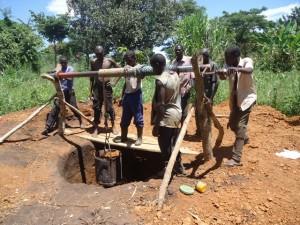 The Water Project : uganda689-07-excavation