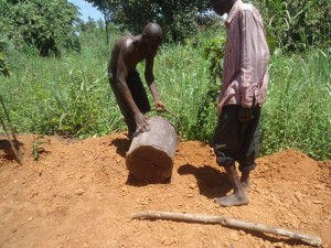 The Water Project : uganda689-08-excavation