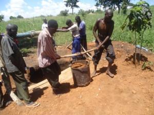 The Water Project : uganda689-09-excavation