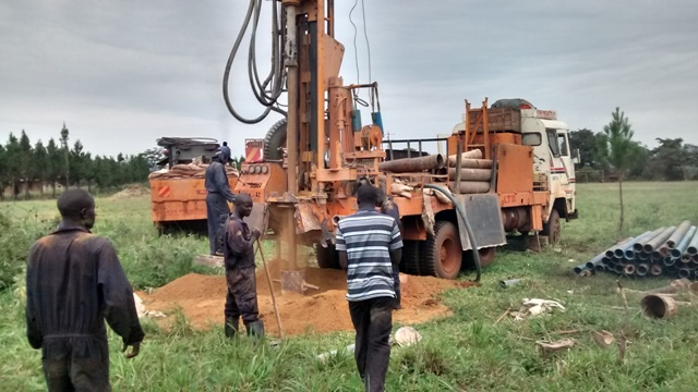 The Water Project : uganda694-01-drilling