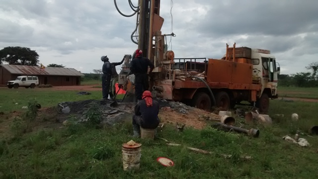The Water Project : uganda695-01-drilling