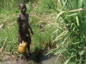 The Water Project : uganda699-02-previous-water-source