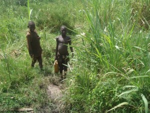 The Water Project : uganda699-03-previous-water-source
