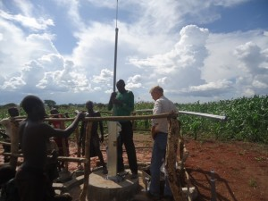 The Water Project : uganda6061-16-pump-installation