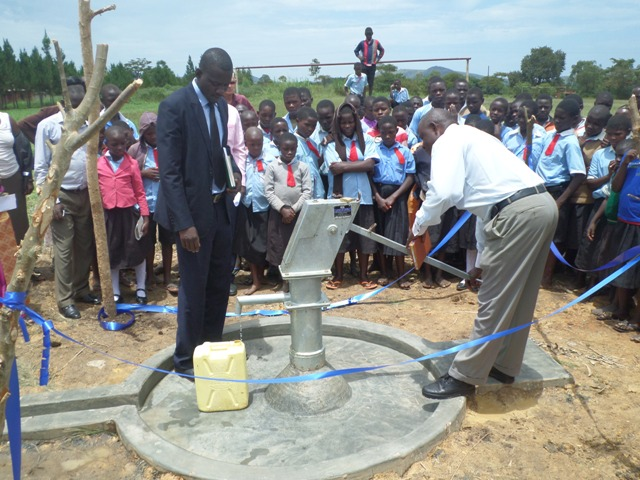 Photo of Bulima C.O.U. Primary School New Well Project