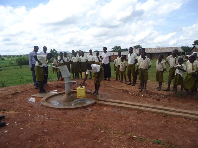Photo of Kisindizi Public Primary School Borehole Project